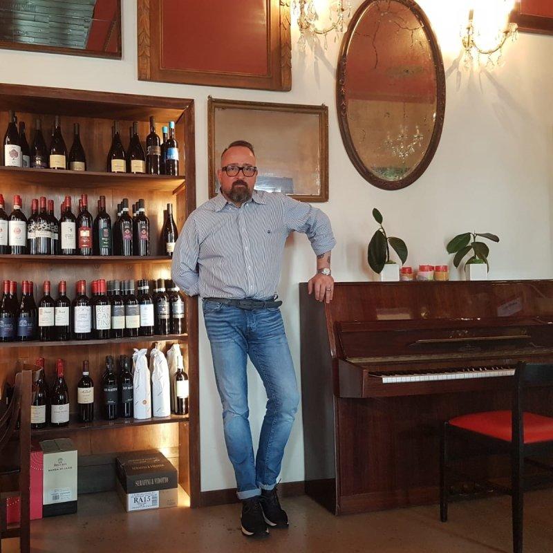 La Loggia: Nicola Bibbiani presenta l'osteria e bottiglieria di Pieve di Soligo