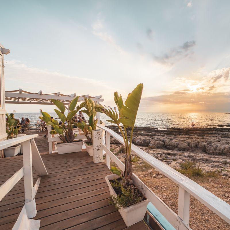 Aperitivo in Salento al tramonto? Sullo Ionio, la Santorini d'Italia