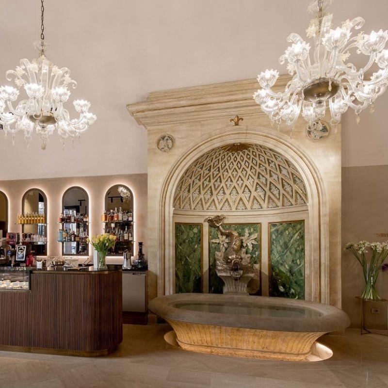Rinnovato il bellissimo Caffè Doria alla Galleria Pamphilj di Roma