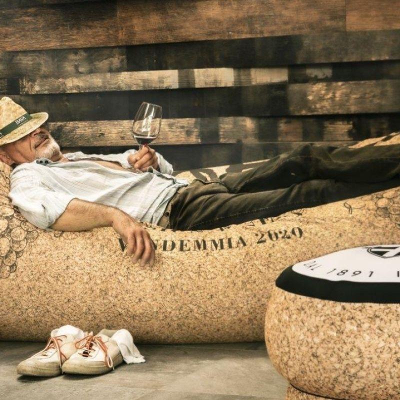 Un Natale da wine lover: le nuove sedute tappo di Diego Gugliermetto