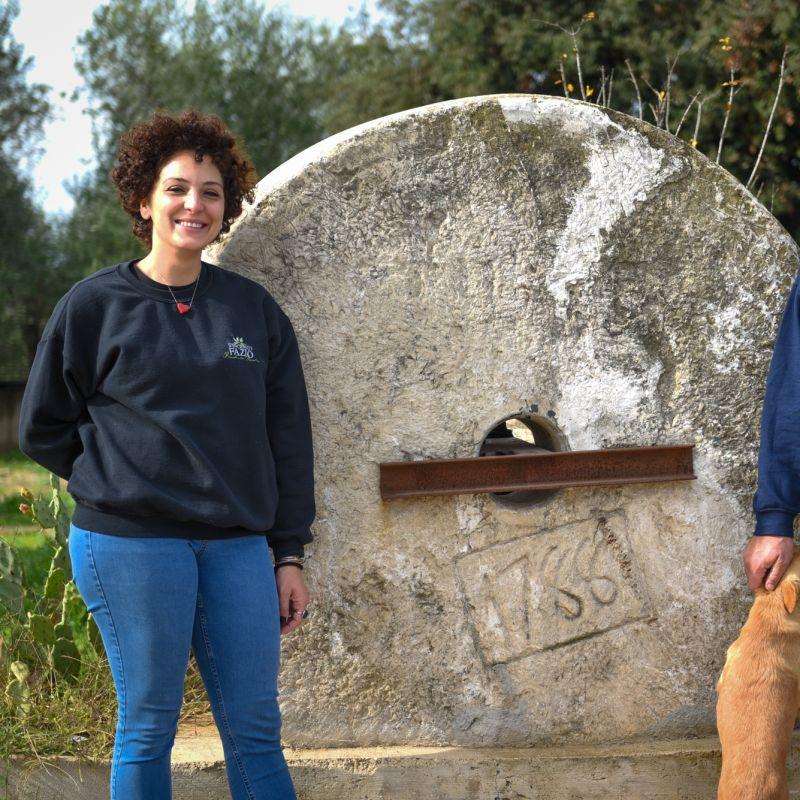 Gianni e Raffaella Fazio, le due anime di un frantoio che pensa in grande