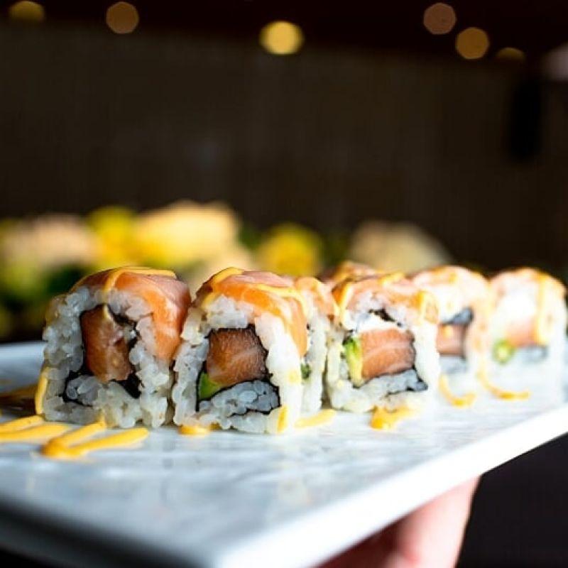 Voglia di sushi sul divano? Tu chiama, Zero Branco risponde