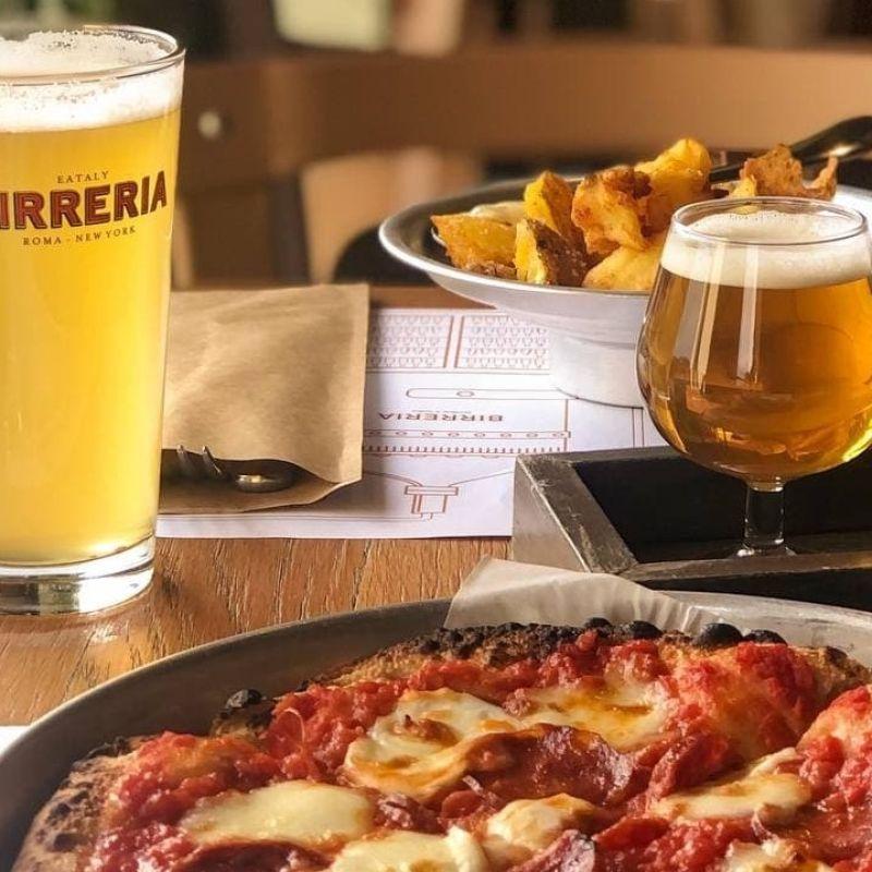 Eataly Roma apre i ristoranti in terrazza di Pizza&Cucina e della Birreria