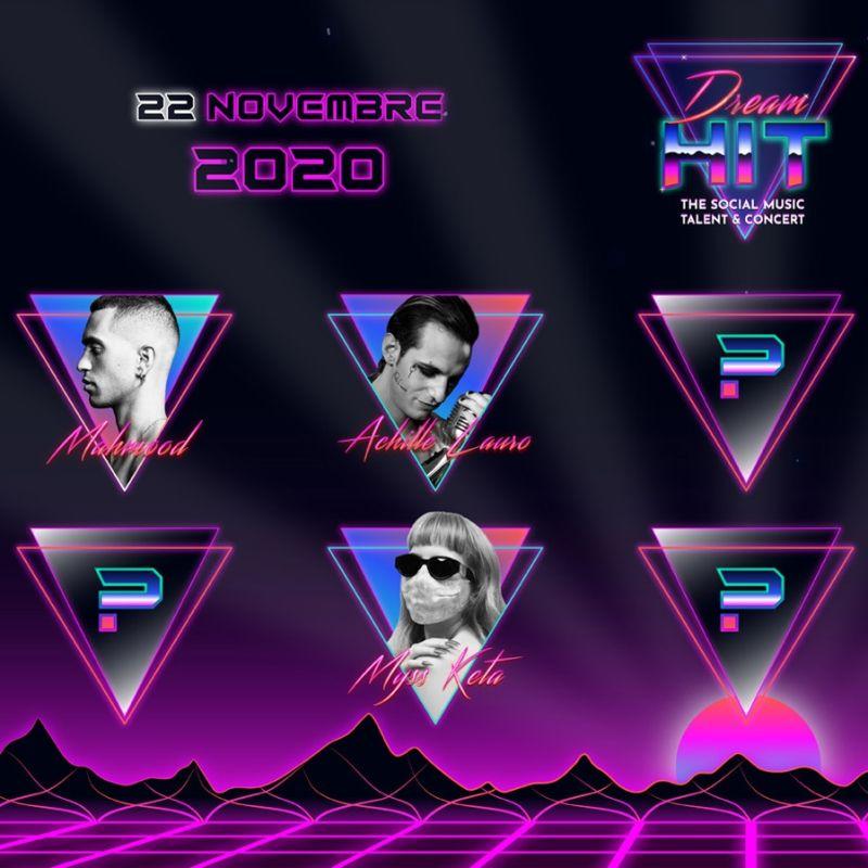 Dream Hit, contest e concerto con Achille Lauro, Mahmood, Myss Keta, Carl Brave e Beba