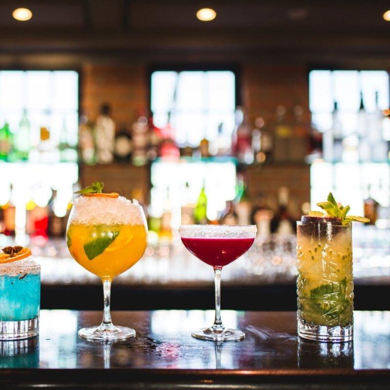 Nei cocktail dello Skyline Rooftop Bar ho ritrovato i colori di Venezia