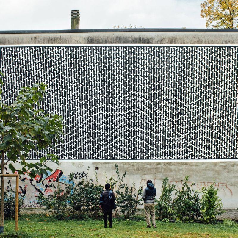 Un nuovo murale per via Padova a Milano: Residenza Urban Art ex Convitto Trotter