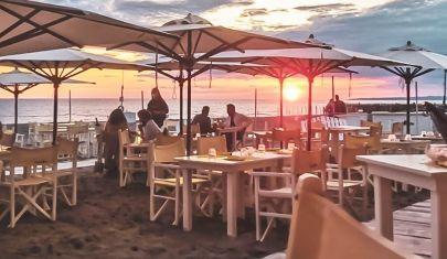 Cenare sulla spiaggia e dintorni a meno di un'ora da Roma
