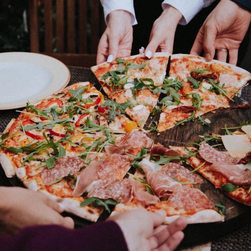 #food di tendenza in Instagram: la pizza è instagrammabilissima