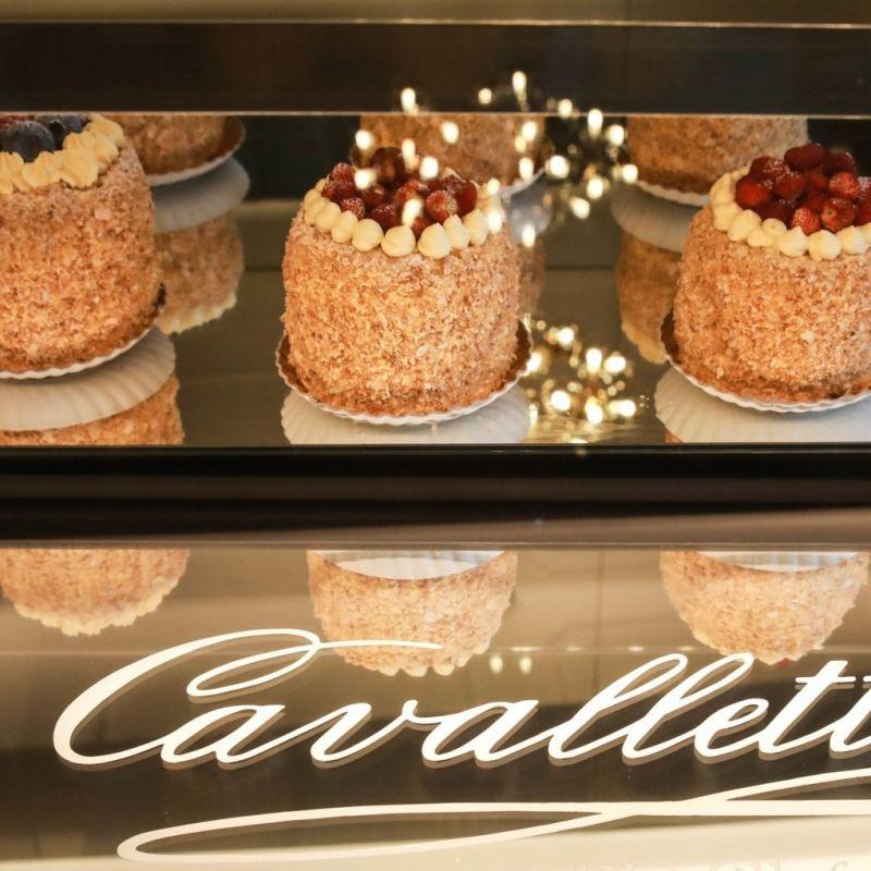 La pasticceria Cavalletti di Roma festeggia 70 anni con una nuova apertura