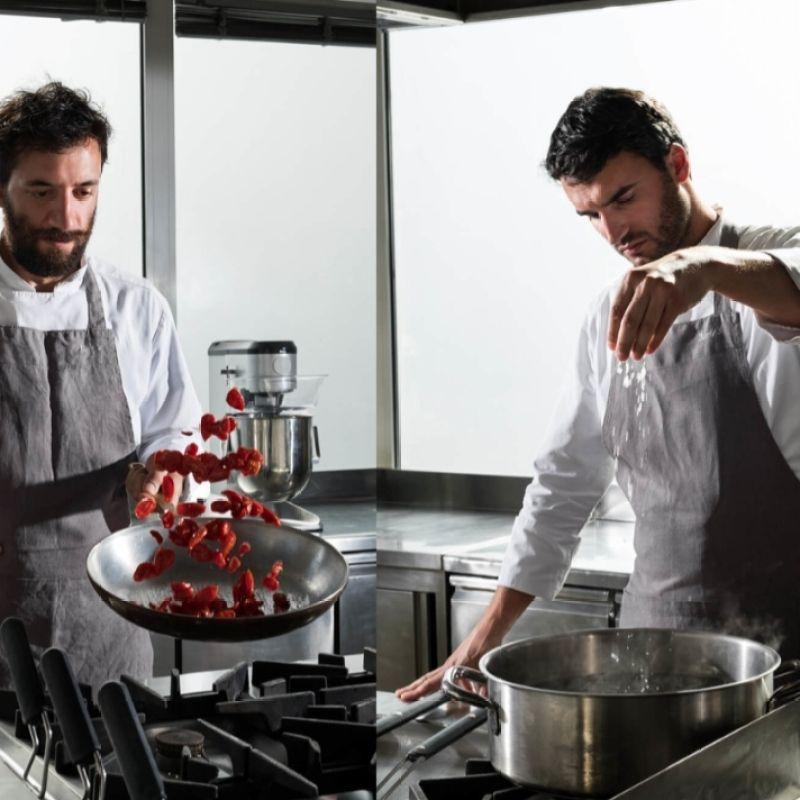 Andrea e Alberto di Burly's, gli chef 'a domicilio' che reinventano il catering
