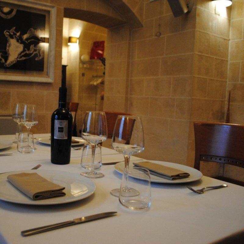 L'osteria speciale del buon pesce e dell'ottimo vino
