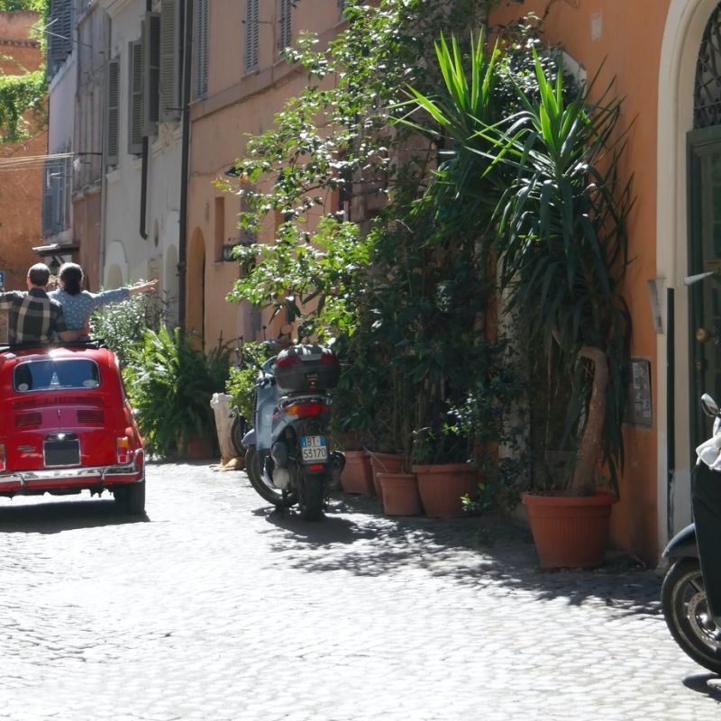 Il delivery a Roma racconta una nuova storia