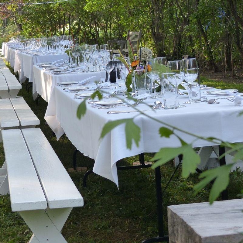 A casa meglio che al locale: chi ti prepara la festa in giardino a Treviso e provincia