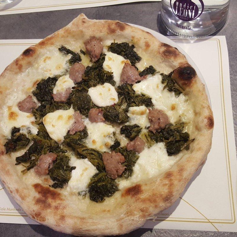 Pizza a Firenze in zona Stadio per tutti quelli che 'l'adrenalina non mi chiude lo stomaco'