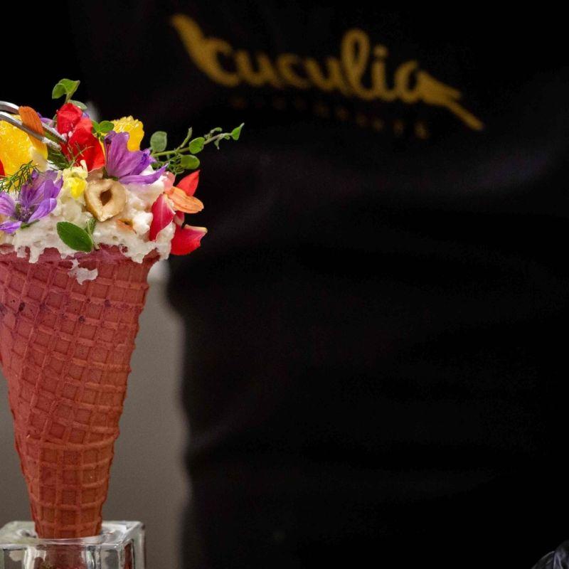 Al Cuculia a Firenze sul cono non ci troverai il gelato: ecco le varianti salate gourmet