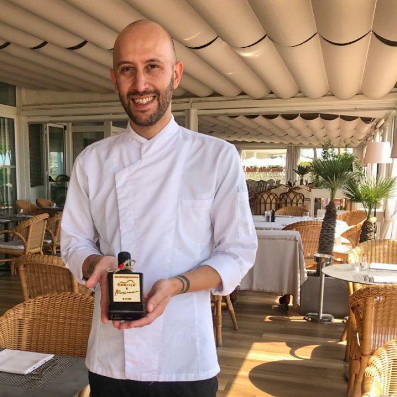 Qualità, simpatia e inventiva al top: ecco Fabio Bello, il nuovo chef del Terrazza Sorriso