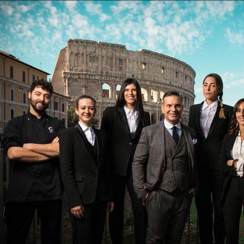 Bartender di Roma uniti per Roma 4 Roma