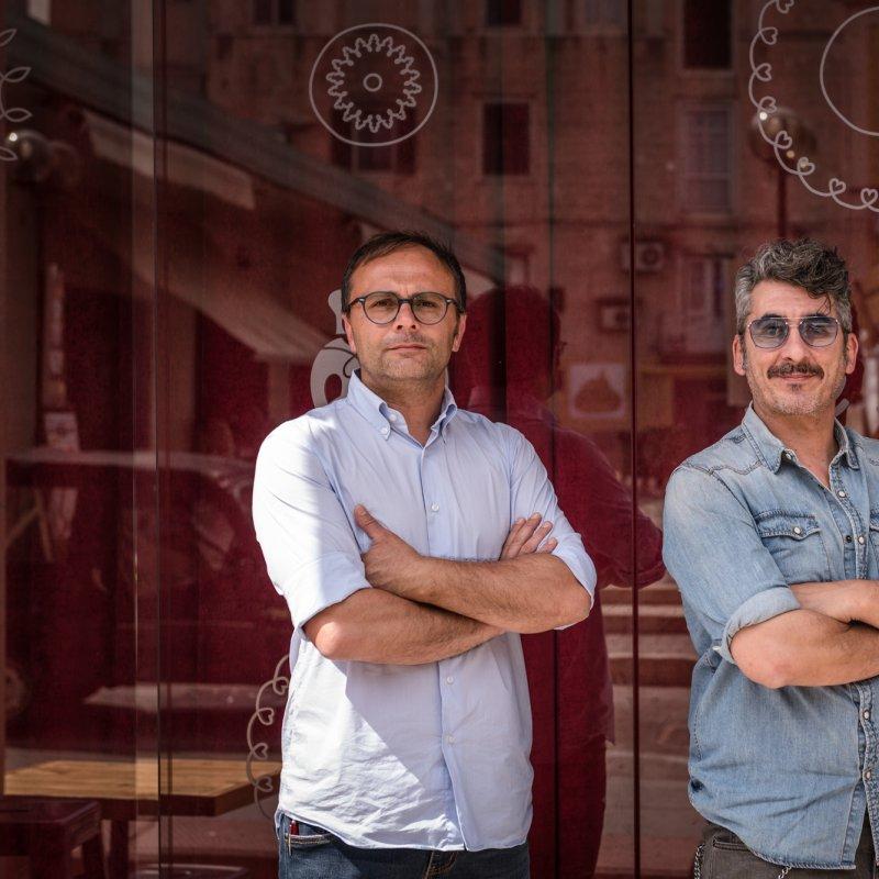 Gianni e Nando: da amici di vecchia data ad imprenditori a Matera