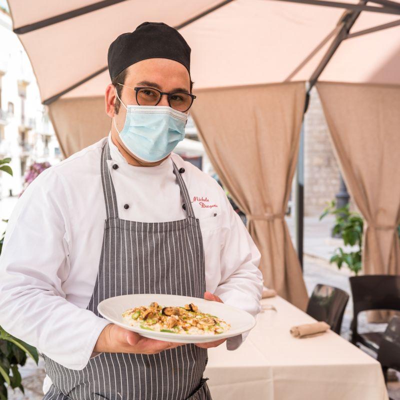 Lo chef barlettano Michele Dargenio parla a tutti i colleghi: «Dobbiamo ritrovare la motivazione»