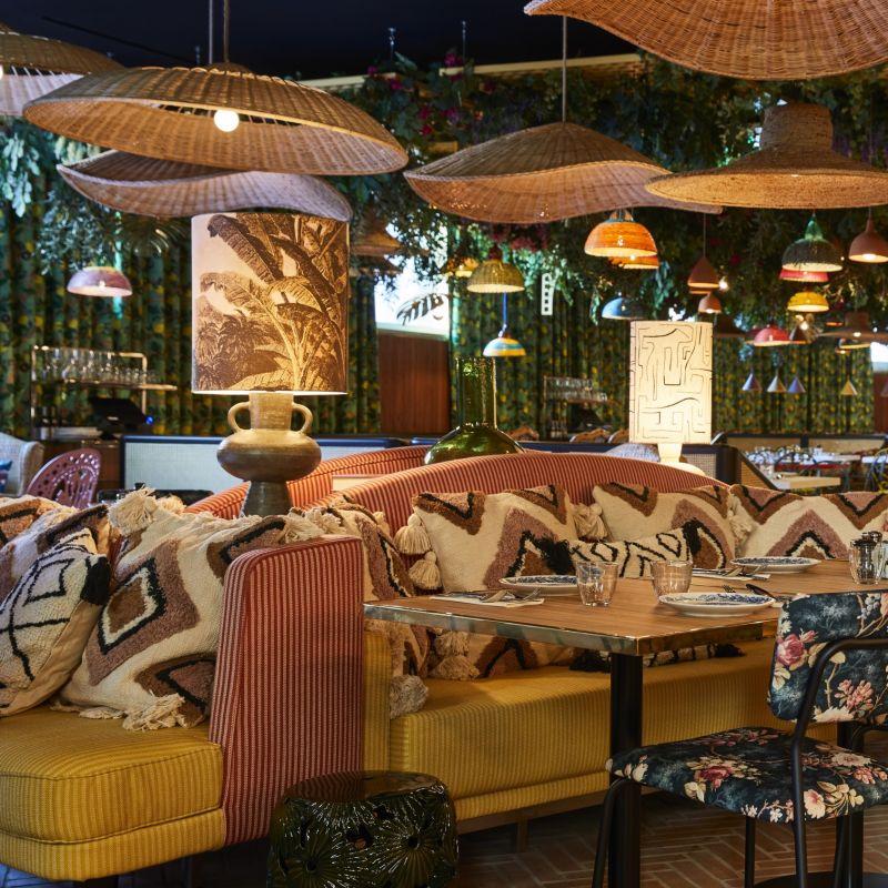 Apre a Prati un nuovo coloratissimo ristorante all'interno di un hotel