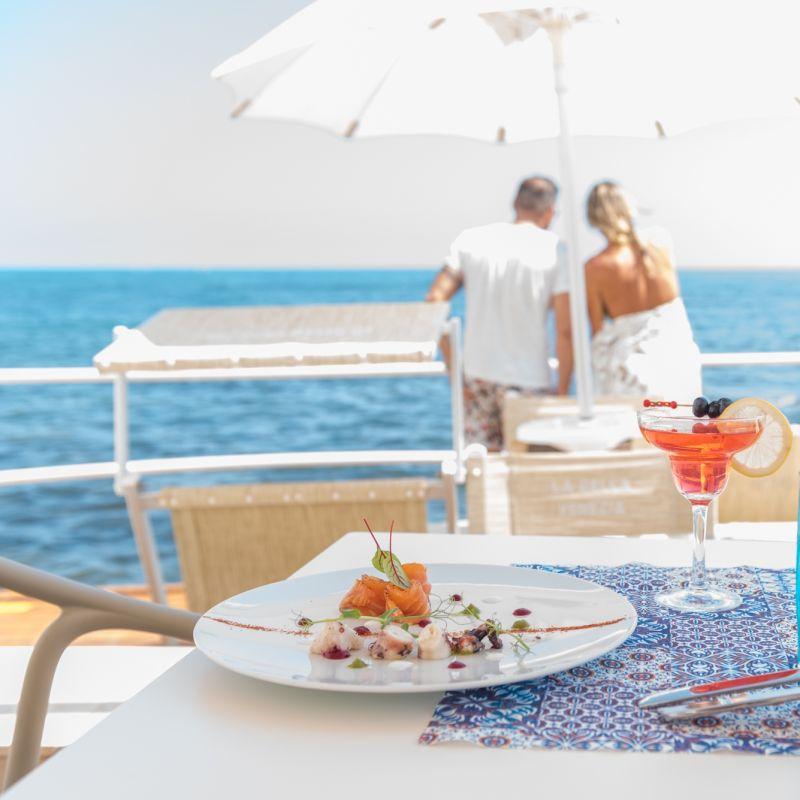 Cenare sulla spiaggia e dintorni a meno di un'ora da Bari