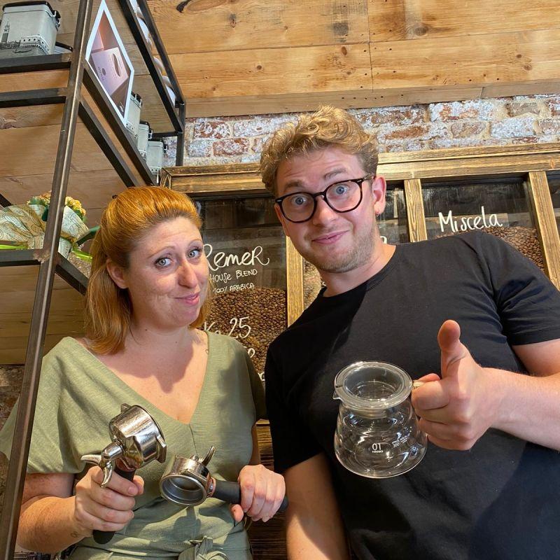 Il senso di Maela per il caffè alla Torrefazione Cannaregio