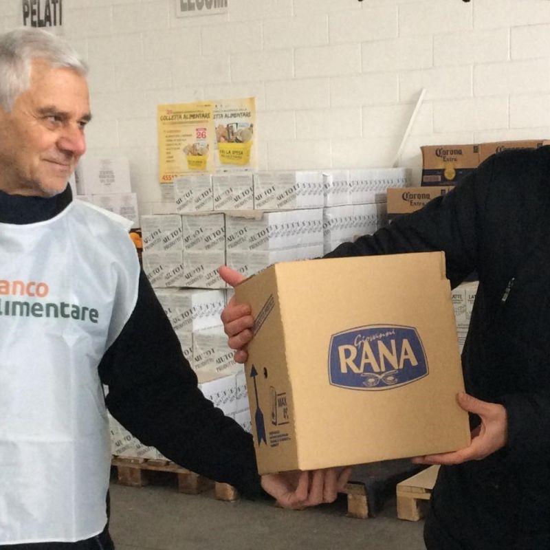 2 milioni di piatti di pasta fresca donati al Banco Alimentare