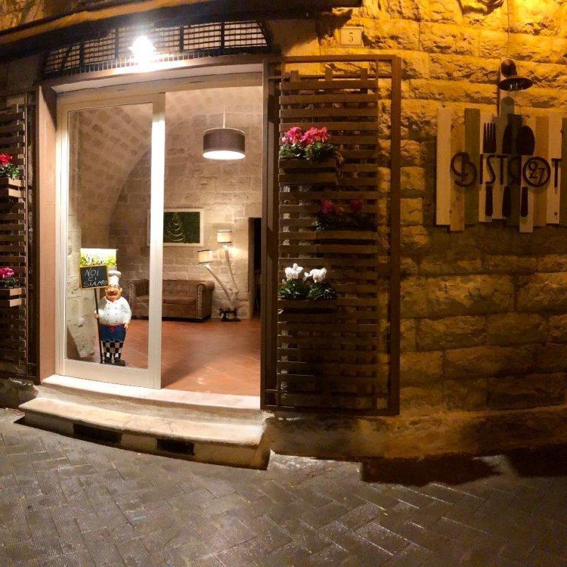 Genuina e tradizionale come quella di casa, ma in una splendida location. La gastronomia che inorgoglisce Bistrot27