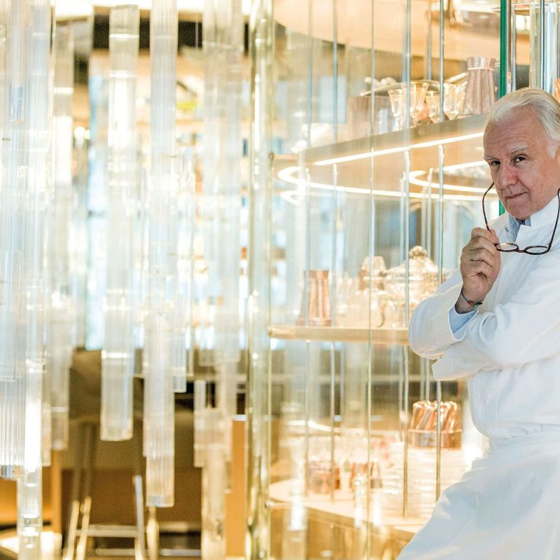 Alain Ducasse apre una gelateria a Parigi e a guidarla ci sarà un italiano