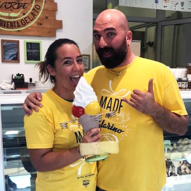 La felicità a portata di casa. Tutto sul gelato delivery de La Mela Verde spiegato da Viviana e Davide