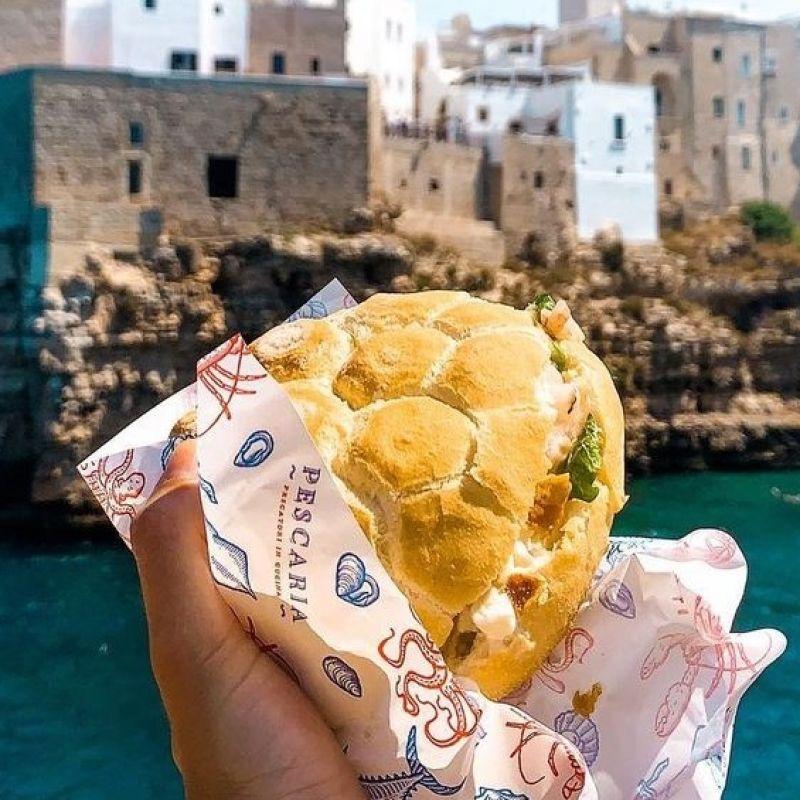 Apre a Verona il famoso street food pugliese dedicato ai panini di pesce