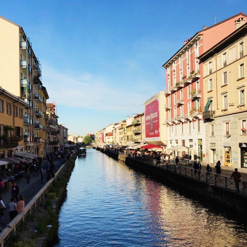 Regola milanese: le sere d'estate si passano sui Navigli