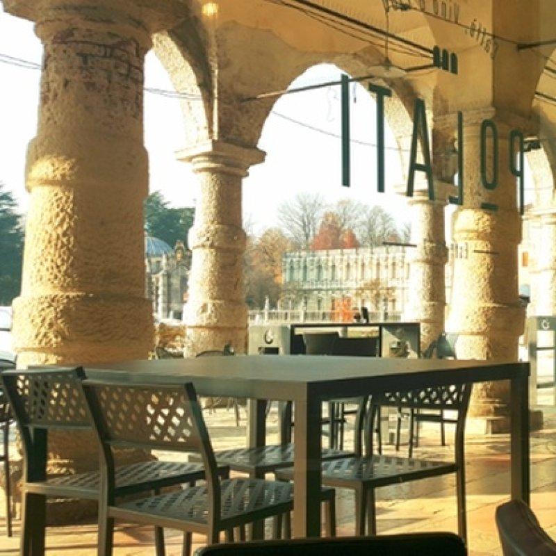 Polati Caffè, Vino, Cibo: la finestra sulla villa di Piazzola Sul Brenta