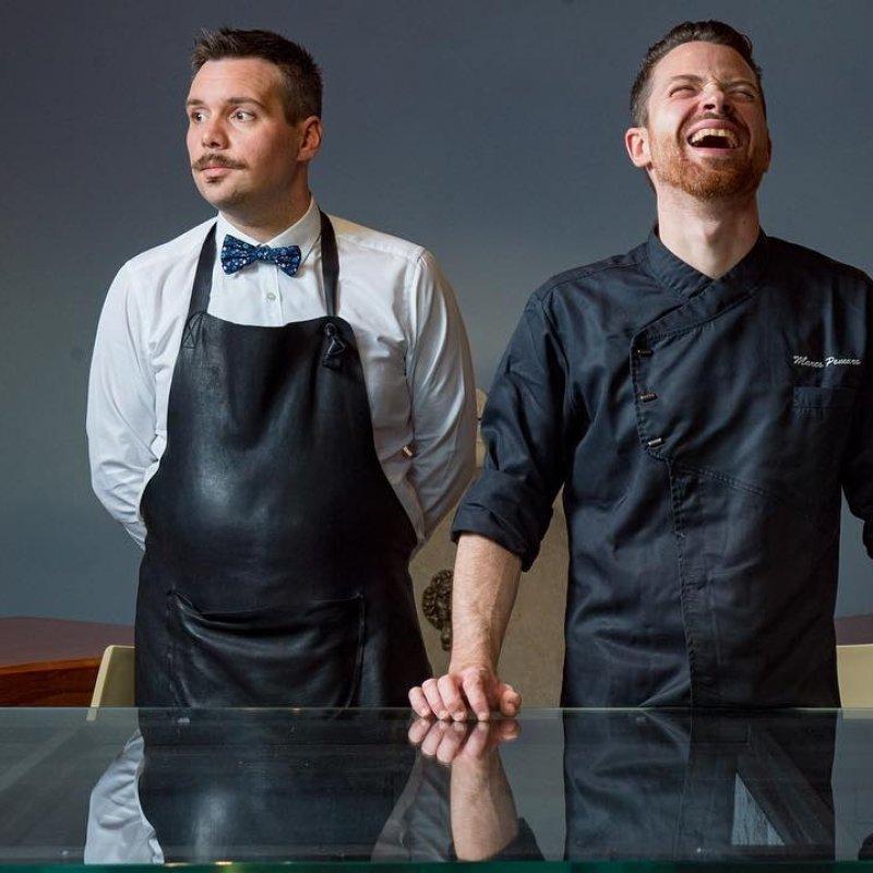 Francesco&Marco: Una cena non significa solo ottimo cibo. È questo il segreto di Villa Tessier?