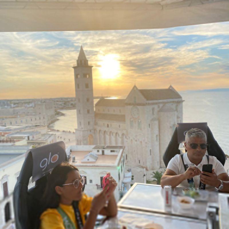 Sono stati giorni pazzeschi a Trani: il successo annunciato del Dinner in the Sky