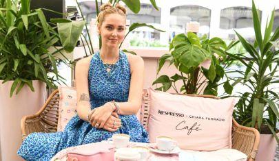 Chiara Ferragni apre il suo temporary caffè by Nespresso a Brera