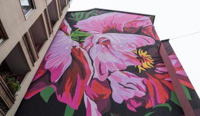 Milano Lifegate Wall: la street art racconta la sostenibilità