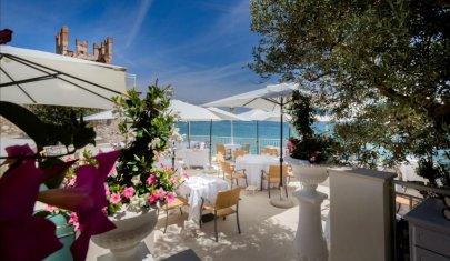 Ristoranti gourmet all'aperto sul lago di Garda