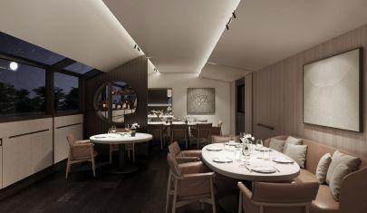Inaugura il ristorante di Andrea Aprea all'ultimo piano del Museo Etrusco di Milano