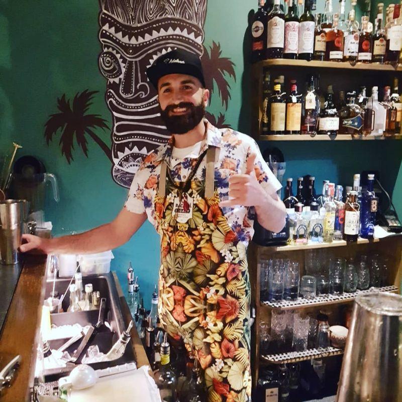 Margarita Mediterraneo - Luau Tiki Bar