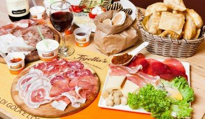 Cena a Milano con lo gnocco… fritto