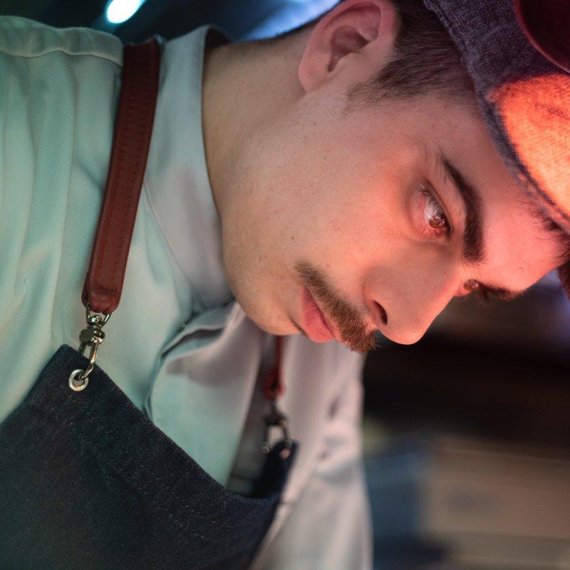 Talento ai fornelli e amore per la natura: ecco Alberto Toè, chef al ristorante di H-Farm