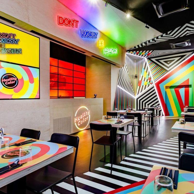 Healthy Color: a Roma apre il fast food di Sfera Ebbasta, Petagna e Burlon