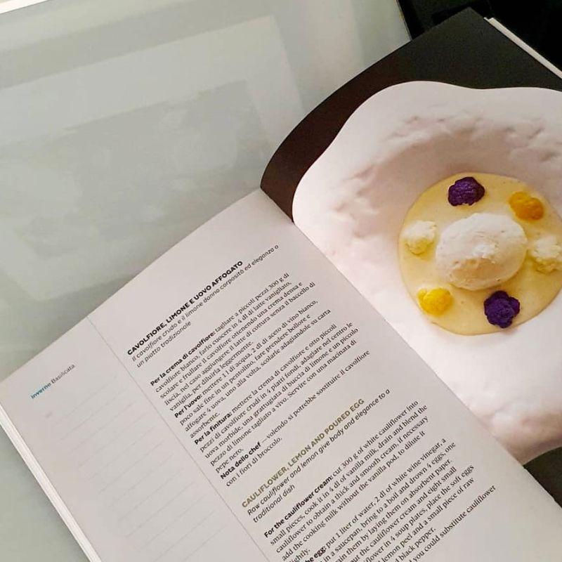 Lo chef stellato Davide Oldani presenta il suo secondo libro di ricette e di cultura del cibo
