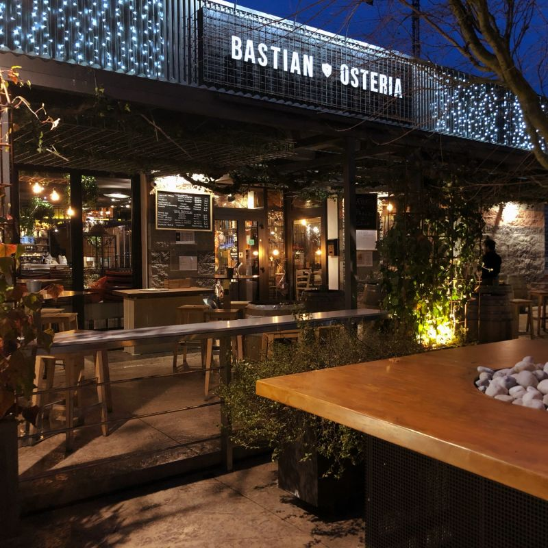 Claudio e Simone raccontano la scommessa vinta al Bastian Osteria