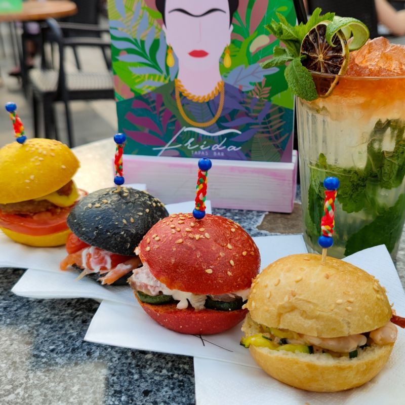 L'aperitivo colorato di Frida Tapas Bar