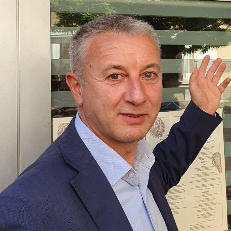 """Salvatore Zambrino di Osteria Faleria """"Il futuro dei ristoranti? Sarà solo la qualità a vincere"""""""