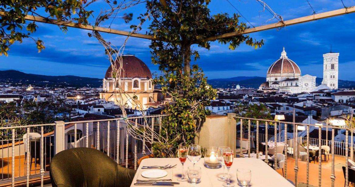 Primavera fiorentina terrazze e giardini dove mangiare for Terrazze e giardini
