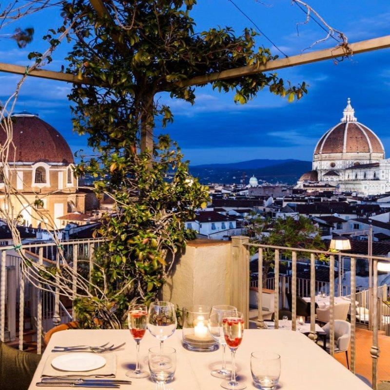 Primavera fiorentina: terrazze e giardini dove mangiare all'aperto con effetto wow