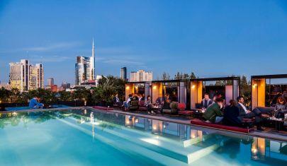 Le terrazze panoramiche da provare per l'aperitivo con vista a Milano